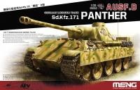 Panther Ausf. D - Mittelschwerer Kampfpanzer - Sd.Kfz. 171 - 1:35