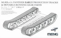 Panther - frühe Produktion - Bewegliche Ketten und Fahrwerk - 1:35