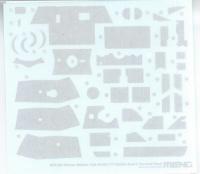 Zimmerit - für Meng Panther Ausf. D - TS-038 - 1:35