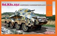 Sd.Kfz. 231 Schwerer Panzerspähwagen - 8 Rad - 1:72
