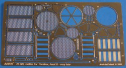 ABER Grilles for Sd.Kfz.171 Panther, Ausf.G