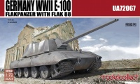 E-100 Flakpanzer with Flak 88 - WWII - 1/72