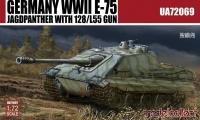 E-75 Jagdpanzer mit 128mm L/55 Geschütz - 1:72