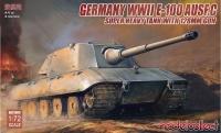 E-100 Ausf. C mit 128mm Geschütz - 1:72