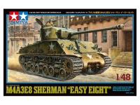 M4A3E8 Sherman - Easy Eight - US Medium Tank - 1:48