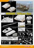 M48A5 - 105mm Gun - 1/35