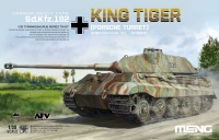 King Tiger - Porsche Turret - German Havy Tank - Sd.Kfz. 182 - 1/35