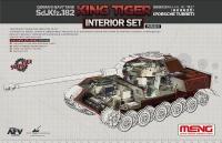 Königstiger - Porsche Turm - Interior Set für Meng TS-037 - 1:35