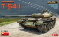 T-54-1 - Sowjetischer Panzer - mit Inneneinrichtung - 1:35
