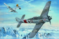 Focke Wulf Fw 190 A-8 - German Fighter - 1/18