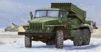 Russischer BM-21 Grad Mehrfachraketenwerfersystem - 1:35