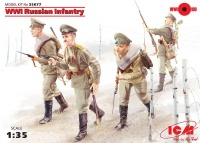 WWI Russian Infantry - 1/35