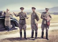 Sowjetische Figuren Stabspersonal 1943-1945 - 1:35
