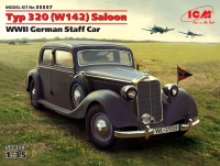 Mercedes-Benz Typ 320 (W142) Saloon - WWII German Staff Car - 1/35