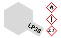 Tamiya LP-38 Aluminium matt / Flat Aluminum - 10ml