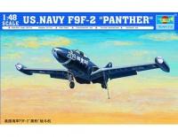 "Grumman F9F ""Panther"" Jagdbomber - 1:48"