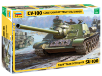 SU-100 sowjetischer Jagdpanzer - 1:35