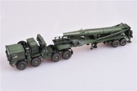 U.S. Army M1001 Tractor and Pershing II Tactical Missile - Finished Model - 1/72