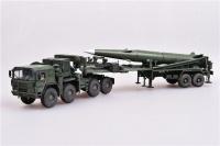 U.S. Army M1001 Zugmaschine mit Balistischer Rakete Pershing II - Fertigmodell - 1:72