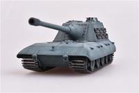 Deutscher schwerer Kampfpanzer E-100 mit 170mm Geschütz 1946 - Fertigmodell - 1:72