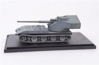 Deutscher Waffenträger E-100 mit 128mm Geschütz 1946 - Fertigmodell - 1:72