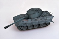 Deutscher Panzerkampfwagen E-75 mit 128mm Geschütz 1946 Grau - Fertigmodell - 1:72