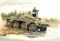 Panzerspähwagen Sd.Kfz.234/2 Puma - 1:56