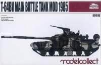 T-64BV Main Battle Tank Model 1985 - 1:72