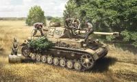 Panzerkampfwagen IV Ausf. F1 / F2 / G -  mit Besatzung - 1:35