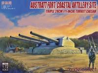 Austratt Fort - Küsten Artillerie - 28cm Drillingsturm Caesar - 1:72
