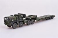 MAN KAT1 M1014- 8x8 HIGH-Mobility off-road truck mit M870A1 Tieflader - Fertigmodell - 1:72