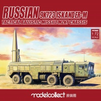 9K723 Iskander-M - Russian Ballistic Missile - MZKT Chassis - Pre-Painted - 1:72