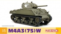 US M4A3 75W Sherman - 1:6