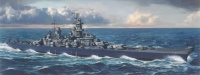 USS Missouri BB-63 - US Navy Battleship BB-63 - 1:700