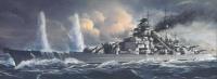 Bismarck - Kriegsmarine Battleship - 1/700