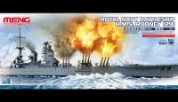 HMS Rodney - Royal Navy Battleship - 1:700