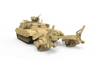 BMR-3M - Russian Armored Mine Clearing Vehicle - 1:35