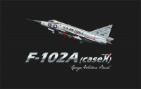 F-102A - Case X - George Walker Bush - 1:72