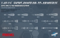 US Short-Range Air to Air Missiles - 1:48
