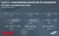 US Long / Medium-Range Air to Air Missiles - 1/48