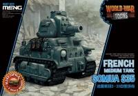 Somua S35 - World War Toons - 1:Egg