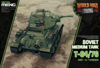 T-34/76 - Soviet Medium Tank - World War Toons - 1/Egg