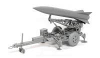 Balistische Kurzstreckenrakete MGM-52 Lance auf Startgestell - 1:35