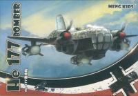 He 177 Bomber - Meng Kids - Egg Plane - Special Edition - 1:Egg