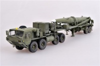 US M983 HEMTT Tractor with Pershing II Missile Erector Launcher - Finished Model - 1/72