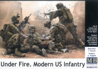 Modern US Infantry - Under Fire - 1:35
