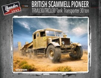 British Scammell Pioneer TRMU30 with TRCU30 Tank Transporter - 30ton - 1:35