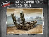 British Scammell Pioneer TRCU30 30 ton Trailer - 1/35