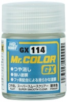 Mr. Hobby Mr. Color GX114 Super Smooth Clear - Klarlack Matt - 18ml