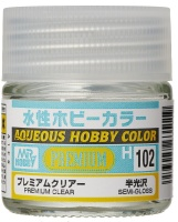 Mr. Hobby Color H102 Premium Clear - Semi-Gloss / Seidenmatt - 10ml